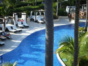 Majestic Elegance Punta Cana -- Bailey Beds by the pool