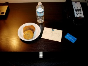 Comfort Hotel - Welcome Gift.