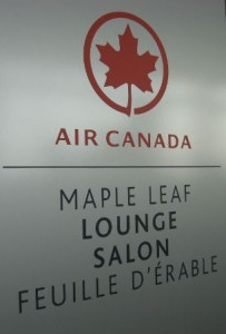 Entrance to the Maple Leaf Lounge